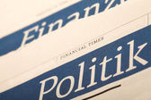 Politics news. — Stock Photo