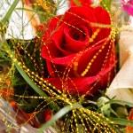 boeket van kleurrijke bloemen — Stockfoto #9226441