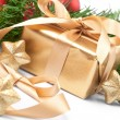 Royalty-Free Stock Photo: Christmas present