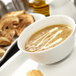 Stock Photo: Mushroom cream soup