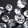 Brilliant diamond — Stock Photo