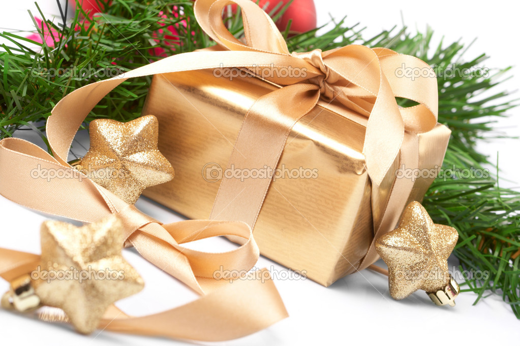 Christmas present  Stock Photo #9226476