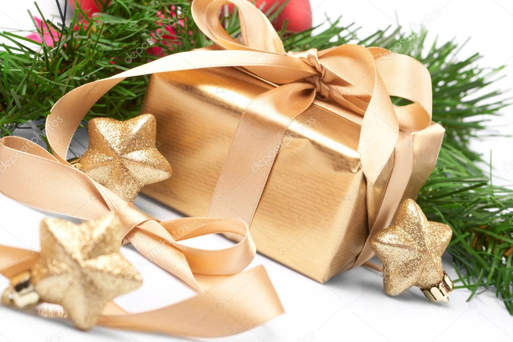 Christmas present — Stock Photo #9226476