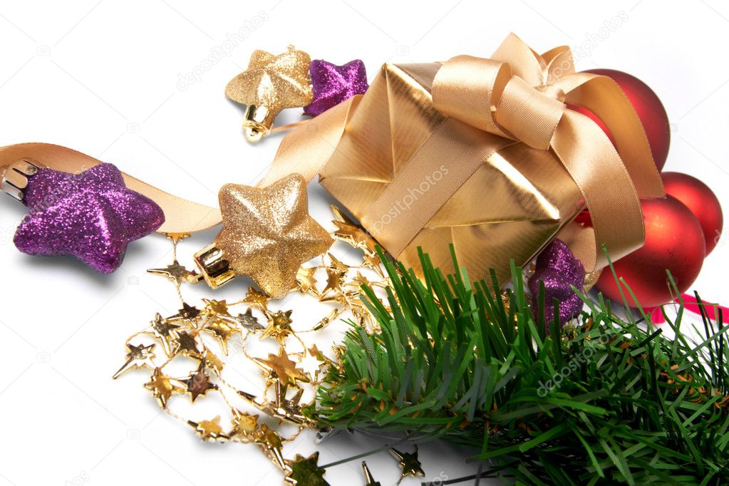Christmas present — Stock Photo #9226637