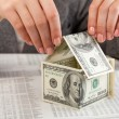 Dollars house — Stock Photo #9255086