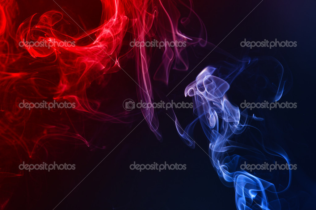 Smoke on the black background — Stock Photo #9257811