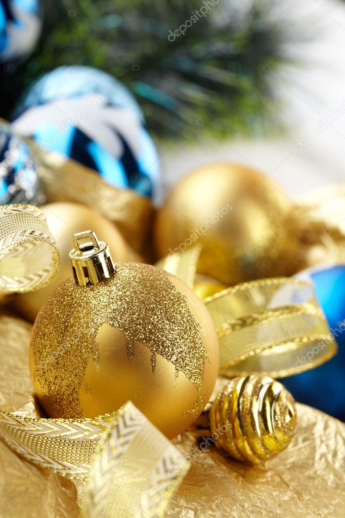 Christmas balls  Stock Photo #9275631