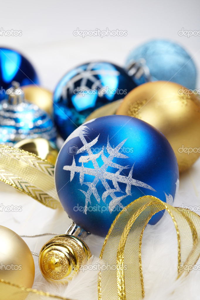 Christmas balls — Stock Photo #9279816