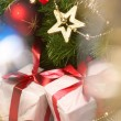 Holiday background - Stock Photo