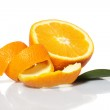 Fresh oranges — Stock Photo #9641727