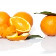 Fresh oranges — Stock Photo #9641780