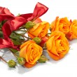 Orange roses — Stock Photo #9642137