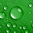 Water-drops background — Stock Photo