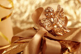 Gift angel — Stock Photo