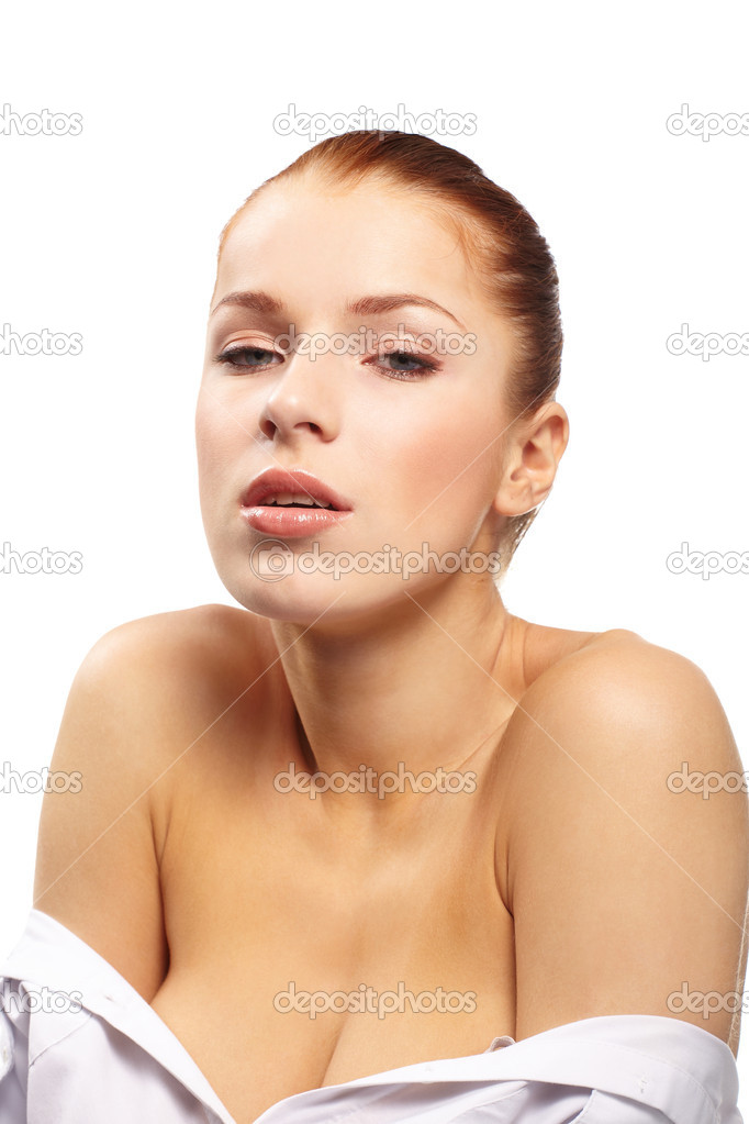 Pretty young woman  Stock Photo #9642099