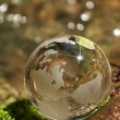Water stream, globe, ecology — Stock Photo #9760776