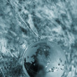 Water  stream, globe, ecology - Stock Photo