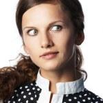 Portrait of the woman in studio — Stock Photo #9769318