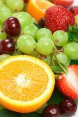 Still-life of fresh fruit — Stock Photo