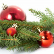 Red ball, christmas — Stock Photo #9831535