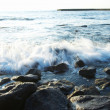 Rugged  sea — Stock Photo