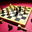 Chess on a board — Stock Photo