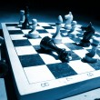 Chess on a board — Stock Photo #9833617