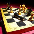 Chess on a board — Stock Photo #9841711