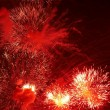 Firework in honor of Independence Day — Stock Photo #9842512