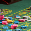Stock Photo: Roulette casino