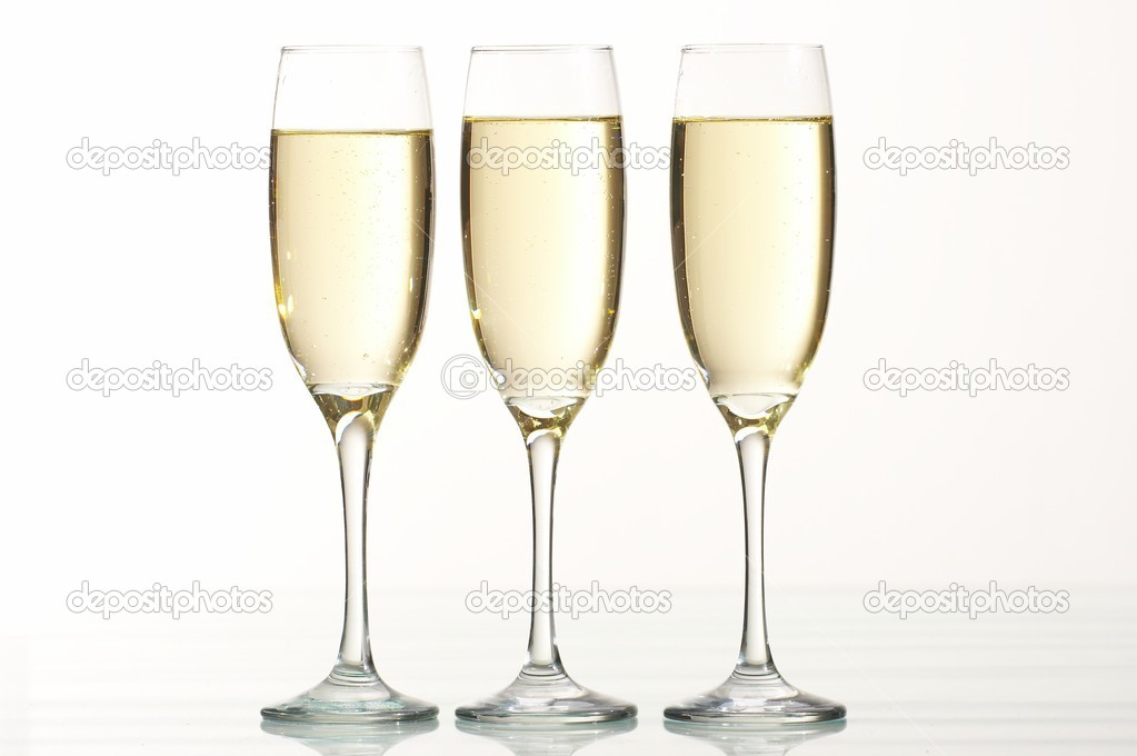 Champagne glass  Stock Photo #9843764