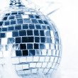 Stock Photo: Disco background with glowing lights