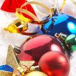 Stock Photo: Ornaments in billowy feathers