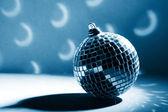 диско фон с светящиеся огни — Стоковое фото