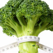 Broccoli diet meter - Foto de Stock