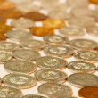 Stock Photo: Silver and gold coins