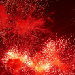 Stock Photo: Firework in honor of Independence Day