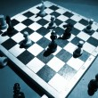 Chess on a board — Stock Photo #9968561