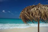Na tropikalnej wyspie, tło podróży, kuba — Zdjęcie stockowe
