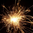 Stock Photo: Christmas sparkler
