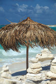 Op een tropisch eiland, reizen achtergrond, cuba — Stockfoto