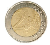 Cento de moeda euro — Fotografia Stock