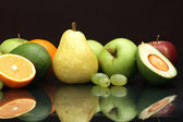 The various fruit useful to health, still-life — Stock Photo