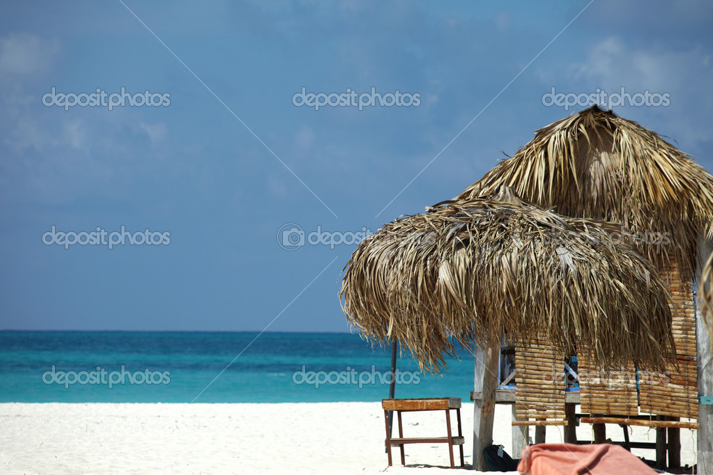 On a tropical island, travel background, cuba — Stock Photo #9975842