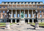 Buda Castle in Budapest, Hungary — Stockfoto