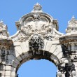 Gate of Buda Castle in Budapest, Hungary — Stock Photo