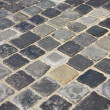 Cobblestone in  Budapest, Hungary — Stock Photo