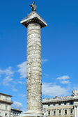 Rome, the column of Trajan — Stock Photo