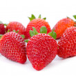 Group of strawberries — Stok fotoğraf