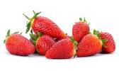Group of strawberries — Stock Photo